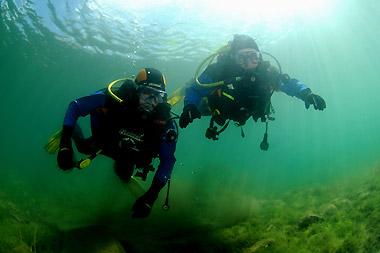 Acqualpina.com - Durante un corso Altitude Diver Padi