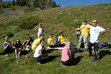 Workshop nel Lago di Chamolé